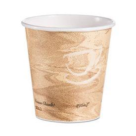 Dart® Heat-Sealed Poly Paper Hot Cups, 10oz. Mistique