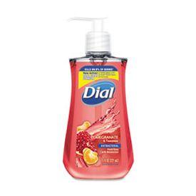 Dial® Liquid Hand Soap Antibacterial, Pomegranate & Tangerine, 7.5 oz Pump Bottle