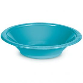 Bermuda Blue Bowl, Plastic 12 Oz
