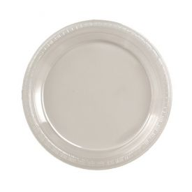 Clear Plastic Dinner Plate 9