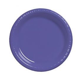 Purple  Plastic Dinner Plate 9