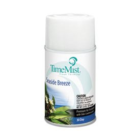 TimeMist® Metered Aerosol Fragrance Dispenser Refills, Seaside Breeze, 6.6 oz