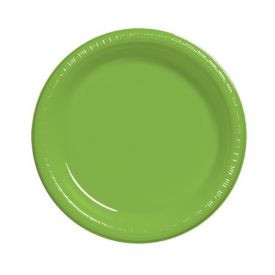 Fresh Lime Plastic Dinner Plate 9