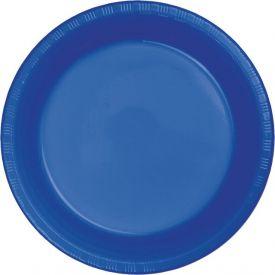 Cobalt Appetizer or Dessert Plastic Plates 7