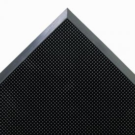 Crown Mat-A-Dor™ Entrance Scraper Mat, Rubber, 24 x 32, Black