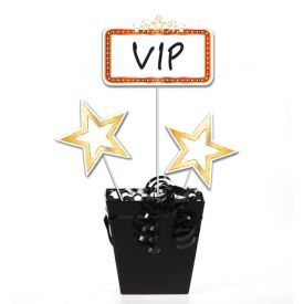 Hollywood Lights Centerpiece Sticks