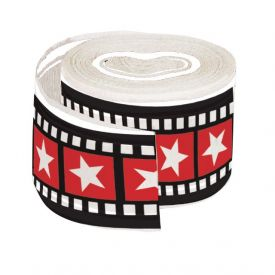 Hollywood Lights Crepe Streamers 30' Printed