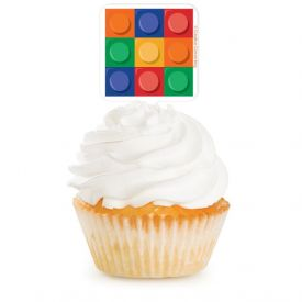 Cupcake Topper Block Party