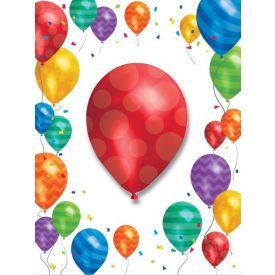 Balloon Blast Invitation, w/ Attachment
