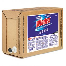 Windex® Powerized Formula Glass/Surface Cleaner; 5 Gallon Bag-in-Box Dispenser