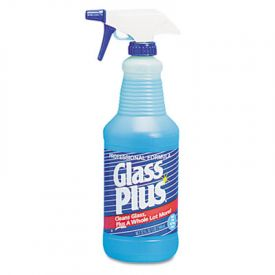 Glass Plus® Glass Cleaner, 32 oz Trigger Spray Bottle