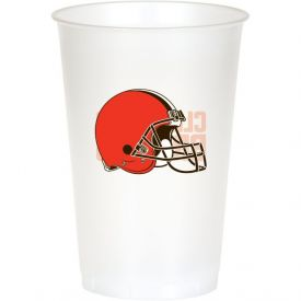 NFL Cleveland Browns Printed Plastic Cups 20 oz.