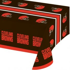 NFL Cleveland Browns Plastic Table Covers 54
