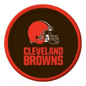 NFL Cleveland Browns Appetizer or Dessert Plates 7