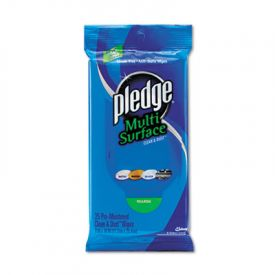 Pledge® Multi-Surface Cleaner Wipes, Cloth, 7 x 10