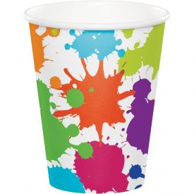 Art Party Hot/Cold Cups 9 oz
