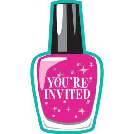 Sparkle Spa Party! Invitation, Postcard