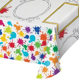 Art Party Paper Table Covers Kids Activity 54
