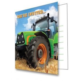 Tractor Time Invitation