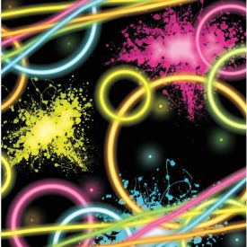 Glow Party Beverage Napkins