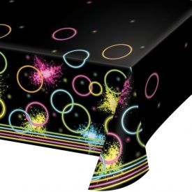 Glow Party Plastic Table Covers 54