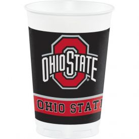 Ohio State University 20 oz Printed Plastic Cups