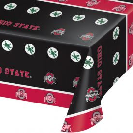 Ohio State University Plastic Tablecover 54