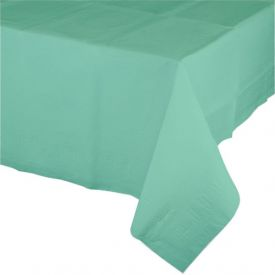 Fresh Mint Tissue Tablecover 54