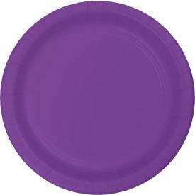 Amethyst Appetizer or Dessert Plastic Plates 7