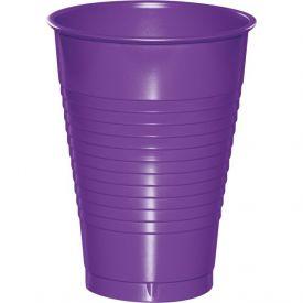Amethyst 12 oz Plastic Cups