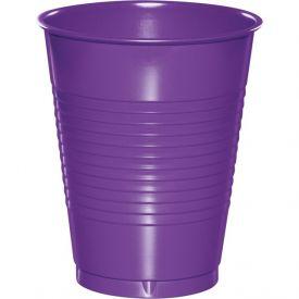 Amethyst 16 oz Plastic Cups
