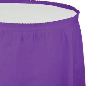 Amethyst Tableskirt, Plastic 14'