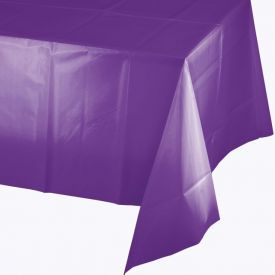 Amethyst Plastic Tablecover 54