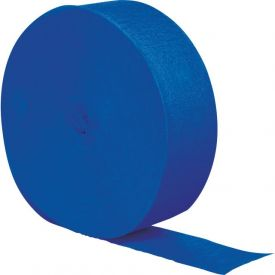 Cobalt Blue Crepe Streamers 500'