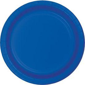 Cobalt Dinner Paper Plates 9