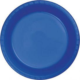 Cobalt Dinner Plastic Plates 9