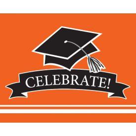 SCHOOL SPIRIT School Spirit Orange Invitation