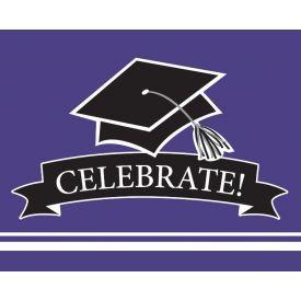 SCHOOL SPIRIT School Spirit Purple Invitation