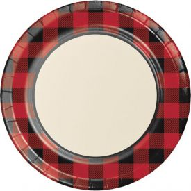 Buffalo Plaid Dinner Plates 8.75