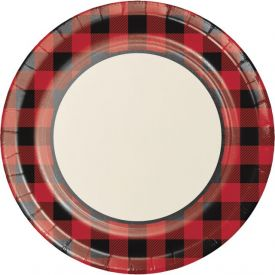 Buffalo Plaid Banquet Plates 10.25