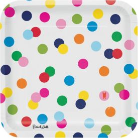 French Bull Birthday Dots 9