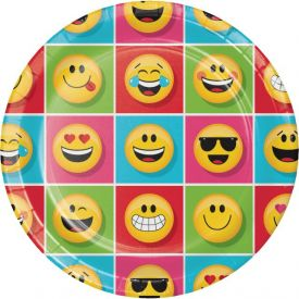 Show Your Emojions Dinner Plate