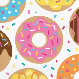 Donut Time Luncheon Napkin