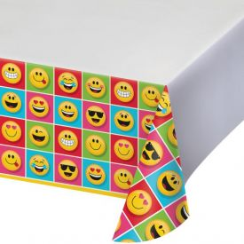 Show Your Emojions Plastic Tablecover Border, 54