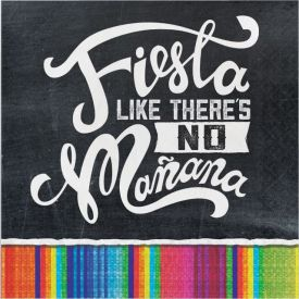 Serape Fiesta Like There's No Manana Luncheon Napkins