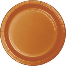 Pumpkin Spice Luncheon Plates