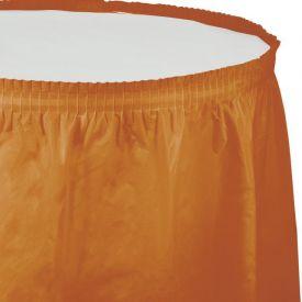 Pumpkin Spice Tableskirt, 14' x 29