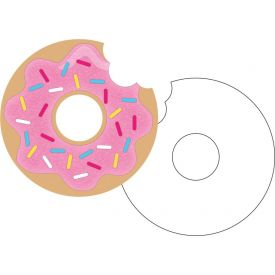 Donut Time Invitation Pscd