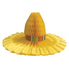 Serape Centerpiece Shaped Hats