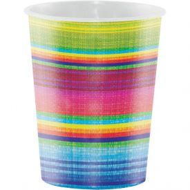 Serape Printed Plastic Cups 16 oz.